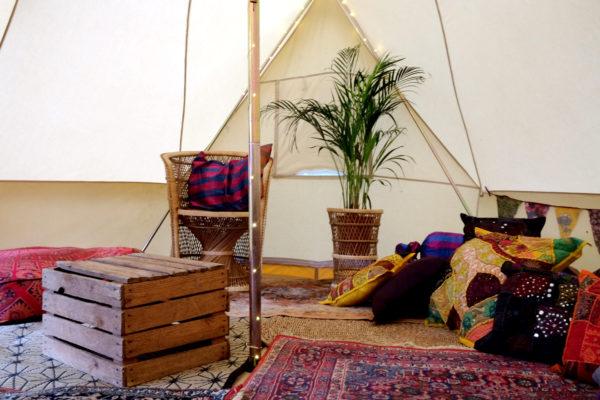 The Rajah Lounge...